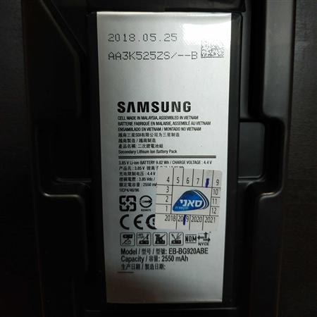 החלפת סוללה מקורית סאני Galaxy S6(כולל אחריות לגב אחורי)