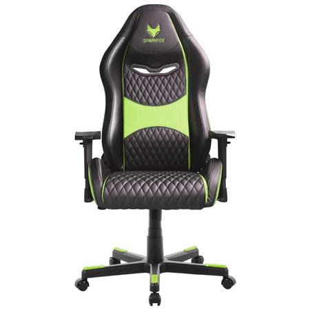 כיסא גיימינג SPARKFOX  ירוק ספארקפוקס